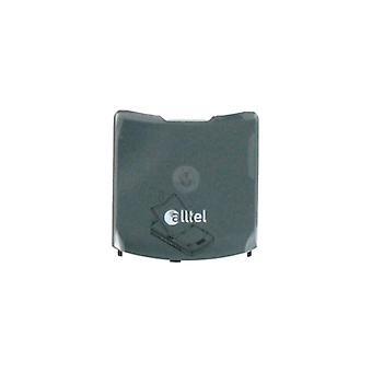 OEM Motorola RAZR V3a Battery Door - Dark Pearl Gray