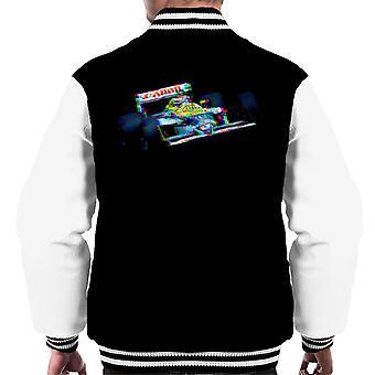 Motorsport Images Nelson Piquet Williams FW11B Honda Belgian GP Men's Varsity Jacket