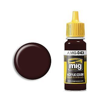Ammo by Mig Acrylic Paint - A.MIG-0043 Shadow Rust (17ml)