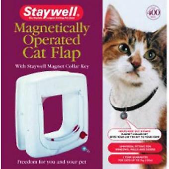 Staywell تشغيل مغناطيسيا القط رفرف 400
