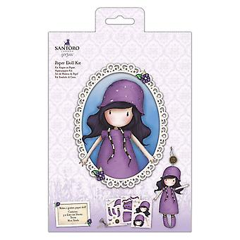 Gorjuss Paper Doll Kit Regenachtige Daze