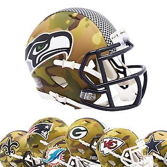 Riddell Speed Mini Football NFL Helmet MULTICAM Camo