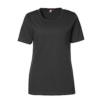 ID Womens/Ladies Pro Wear Short Sleeve Regular Fitting Round Neck T-Shirt