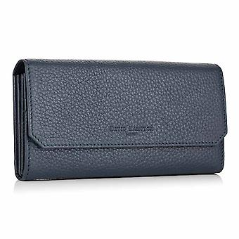 Petrol Richmond Leather Continental Wallet