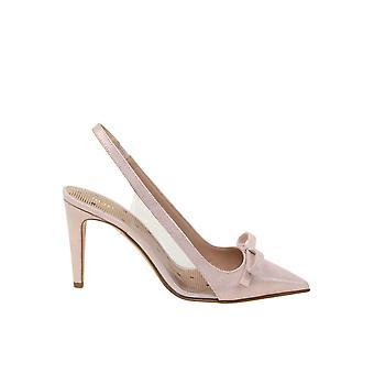 Red Valentino Sq0s0c48tqttd0re Women's Gold/pink Leather Sandals