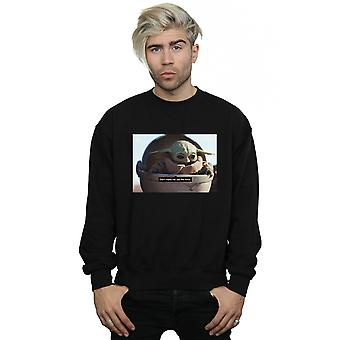 Star Wars Men's The Mandalorian Don't Make Me Sweatshirt