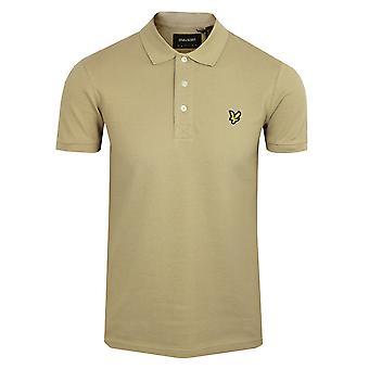 Lyle & scott men's sand storm polo shirt