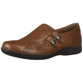 Rockport Womens Dalsey Leather Round Toe Loafers