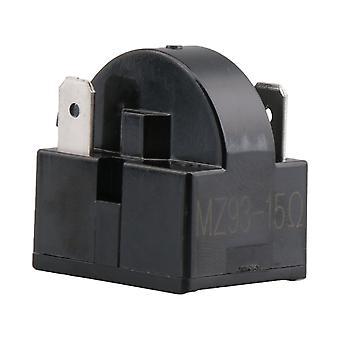 Frigider Compresor PTC Releu Starter 15 Ohm 3 Pini Negru