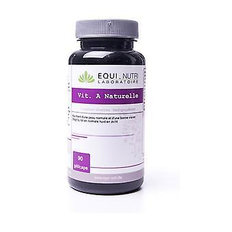 Natural vitamin A 90 capsules