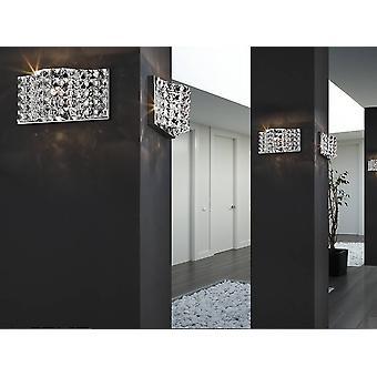 Crystal Wall Lamp Chrome, G9