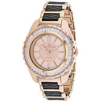 Oceanaut Women's Lucía Reloj de esfera de oro rosa - OC0544