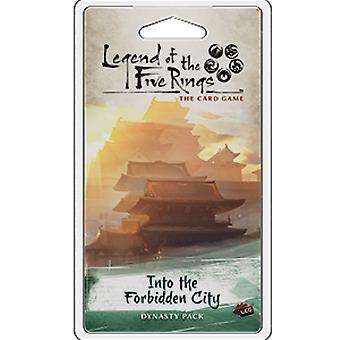 האגדה של חמש טבעות LCG: לתוך חבילת הרחבת שושלת העיר האסורה