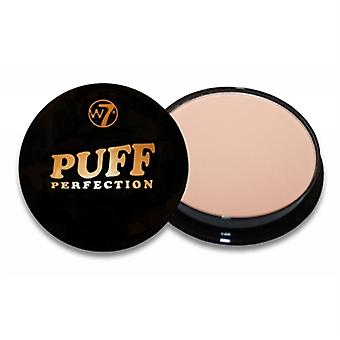 W7 Puff Perfection All In One Cream Powder Fair 0.35oz / 10g
