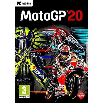 MotoGP 20 PC DVD Game