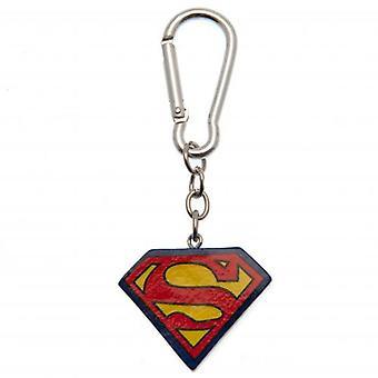 Superman 3D Polyresin Keyring