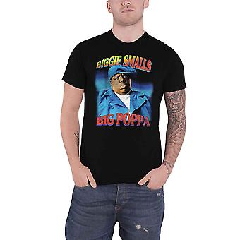 Biggie Smalls تي شيرت بوبا شعار جديد الرسمية الرجال الأسود
