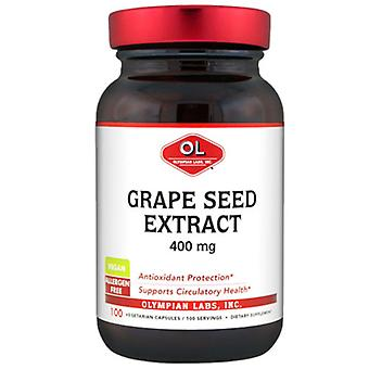 Olympian Labs Grape Seed Extract, 400 mg, 100 Caps