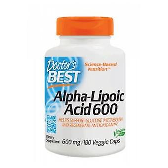 Doctors Best Alpha Lipoic Acid, 180 Veggie Caps