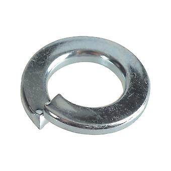 Forgefix Spring Washers DIN127 ZP M8 Forge Pack 30 FORFPSW8