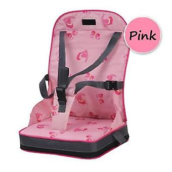 Portable Baby Dining Chair Bag Foldable Infant Travel Booster Seat For Child Safety Belt