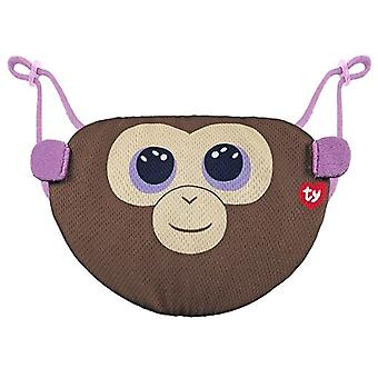 TY Coconut Monkey Face Mask Cover