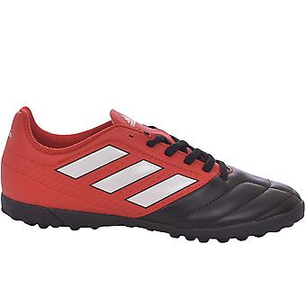 adidas Perfomance Boys Kids Junior ACE 17.4 Turf Football Boots Trainers - Red