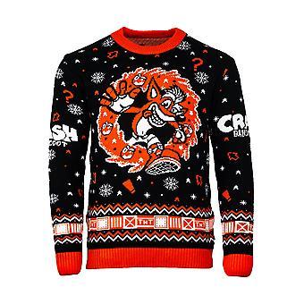 Offizielle Crash Bandicoot N.Sanity Weihnachten Pullover / hässliche Pullover