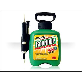 Roundup Fast Action Pump And Go 2.5L