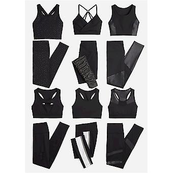 Marke - Core 10 Frauen's Icon-Serie - der Krieger Mesh Plus Größe Legging, schwarz, 1X
