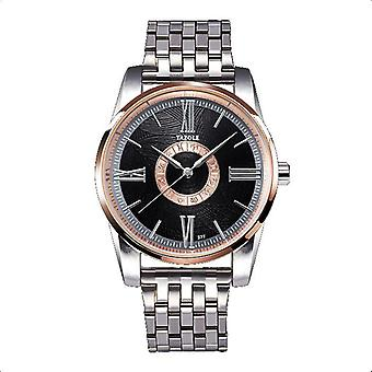 YAZOLE 377 Fashion Men Quartz Watch Roman Numeral Wrist Watch