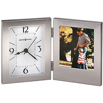 Howard Miller Envision Tabletop Clock - Silver
