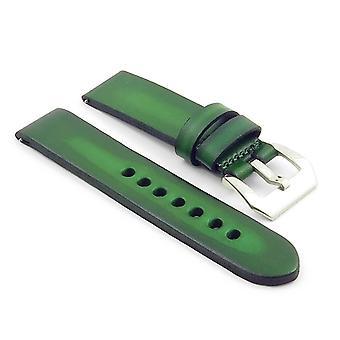 Strapsco vervaagde dikke vintage lederen horlogeband
