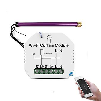 Wifi Mini Smart Curtain Switch Module For Roller Blinds