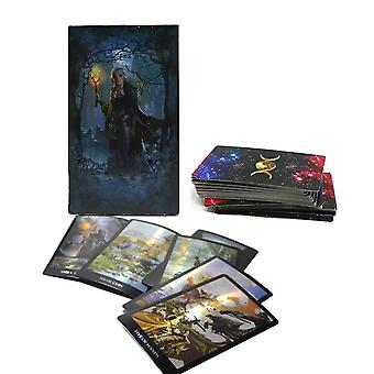 Shine Waite Tarot Cards English Spanish French Word Divination Board Game