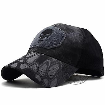 Bundles Skull Mesh Fitted Tactical Cap, Cp Special Force Sniper Swat Hat