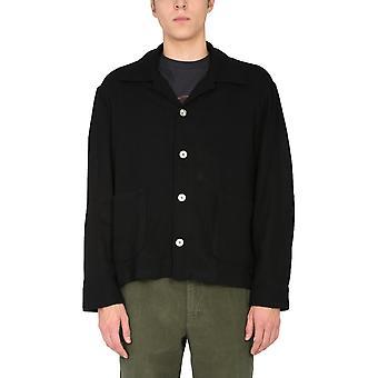 Our Legacy M4202bsw Men's Black Wool Cardigan