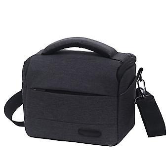 Vodotesný DSLR fotoaparát taška pre Nikon Canon SONY Panasonic atď fotoaparát, Veľkosť: Veľké (Black)