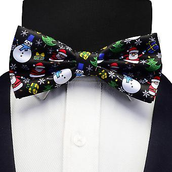 Christmas Tree Pattern Festival Theme  Bow Tie.