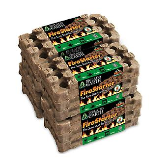Irlande Earth All Natural, All Weather Fire Starters (6-Use)