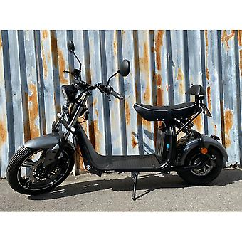 "Fatboy City Coco Smart E Electric Scooter Harley - 17 ""- 1500W - 20Ah - B Class - Gray"