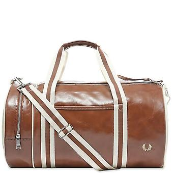 Fred Perry Classic Barrel Bag Schouder Schouder Gym Travel Duffle Bag L7220-448