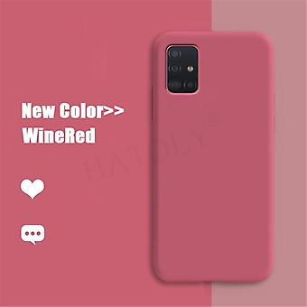 For Samsung Galaxy M31 A21 Case Cover A51 A71 M30s M21 A30s A50 A41 Væske