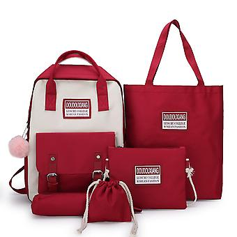 حقائب حقيبة ظهر في المدرسة الثانوية للمراهقين