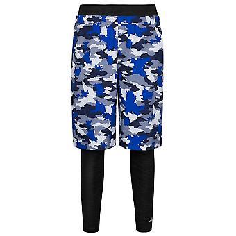 Puma x 1 FC Herzogenaurach 2 În 1 Pantaloni scurți pentru bărbați Blue Camo 571847 55