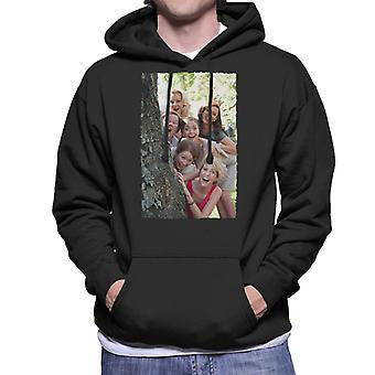 Brudtärnor Brudar Brudfest runt träd män & apos, s Hooded Sweatshirt