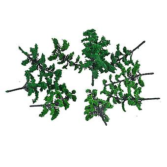 10pcs 70MM Model Tree Architecture Model Tree for DIY Scenery Landscape House