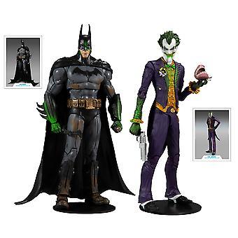 Batman vs Joker Multipack (Batman Arkham Asylum) 7 Inch McFarlane Action Figure