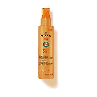 Nuxe Sun - High Protection Flux for Face and Body SPF50 150 ml (Coconut - Orange - Floral)