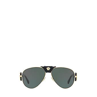 Versace VE2150Q gold unisex Sonnenbrille